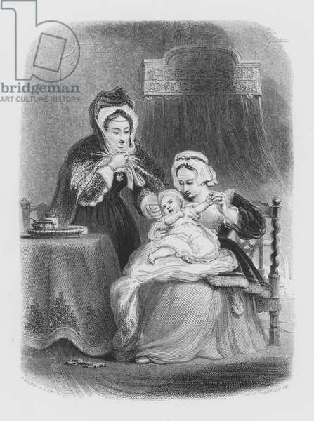 Shakespeare, The Infant (engraving)