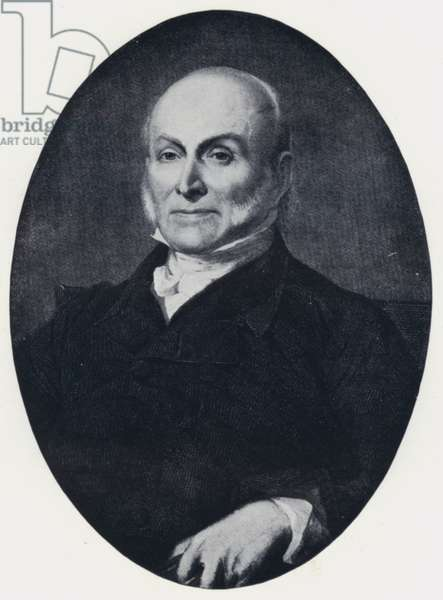 John Quincy Adams (b/w photo)