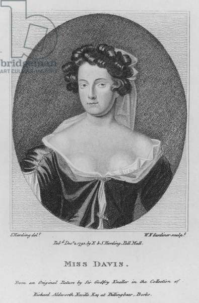 Miss Davis (engraving)