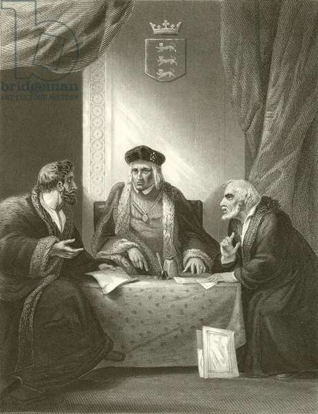 Henry VII with Empson & Dudley (engraving)