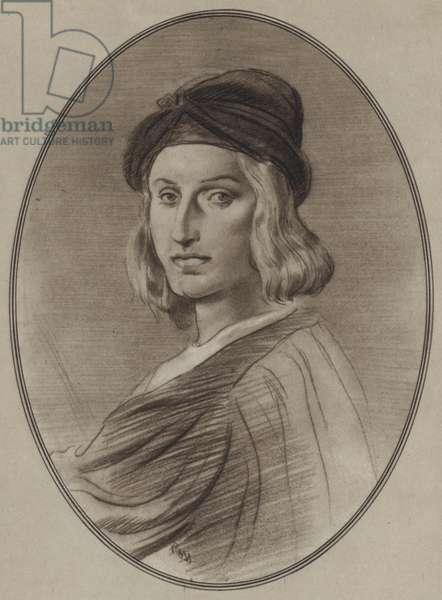 Portraits of Great Painters: Raphael (litho)