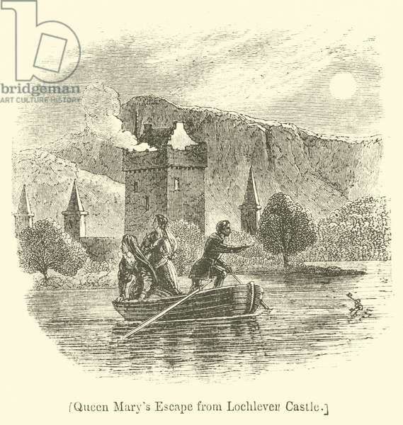 Queen Mary's Escape from Lochleven Castle (engraving)