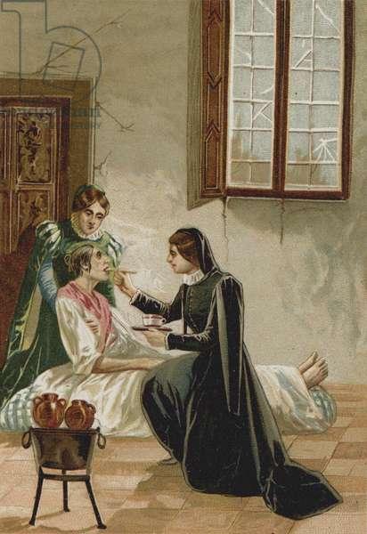 Episode in the life of Saint Vincent De Paul (chromolitho)