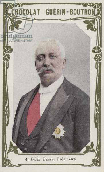 Felix Faure, President (coloured photo)