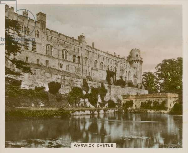 Warwick Castle (coloured photo)