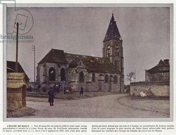 L'Eglise de Barcy (photo)