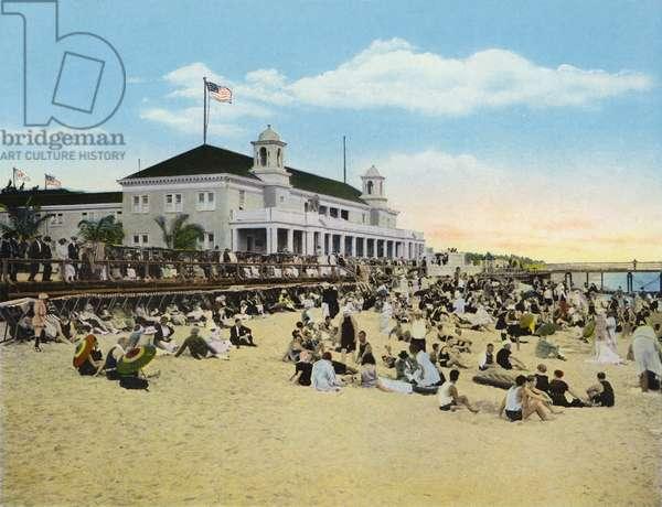 Bathing Beach and Casino, Palm Beach, Florida (photo)
