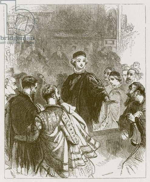 Gernutus the Jew of Venice (engraving)