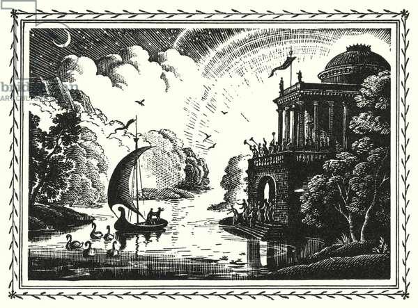 Hans Christian Andersen: Ole Luckoie, Or The Dustman (litho)