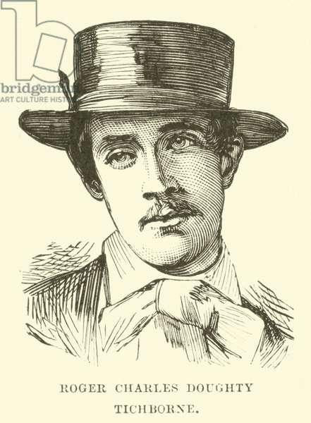 Roger Charles Doughty Tichborne (engraving)