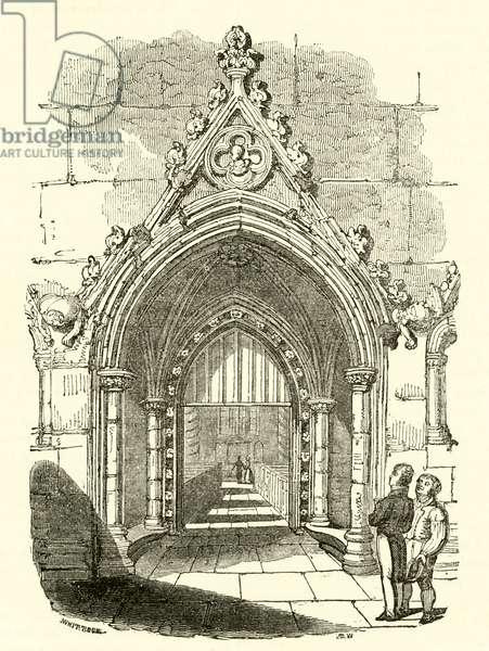 Waltham Abbey Church, Essex (engraving)