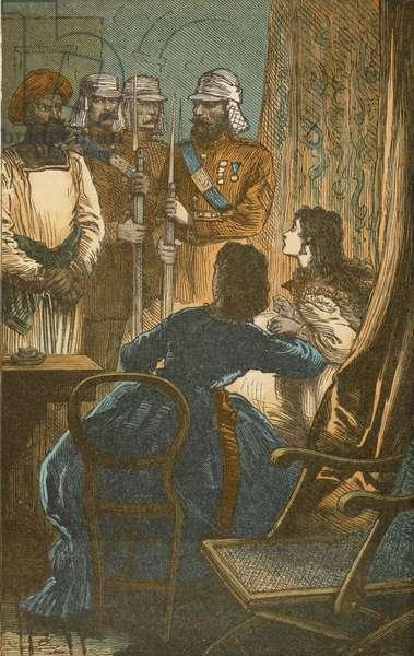 Palit confesses his guilt (colour litho)