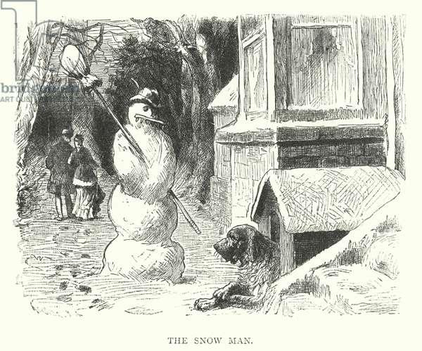 The Snow Man (engraving)