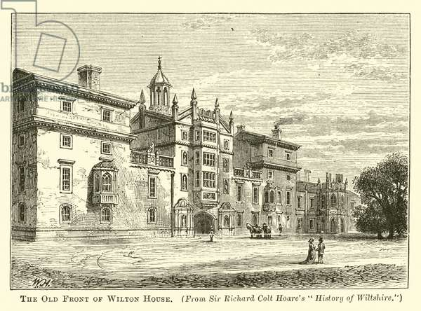 The Old Front of Wilton House (engraving)