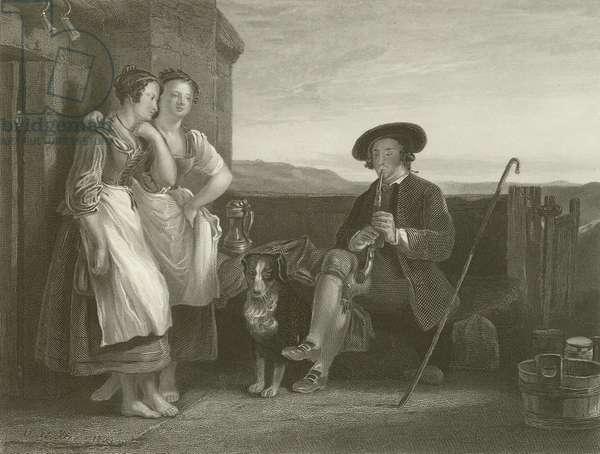 The Gentle Shepherd (engraving)