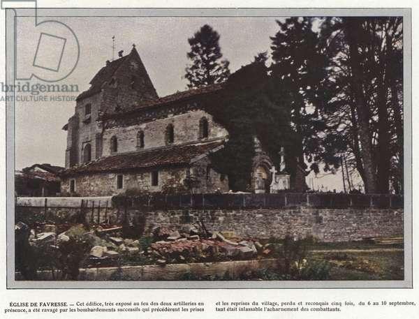 Eglise de Favresse (photo)