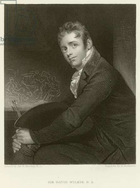 Sir David Wilkie (engraving)