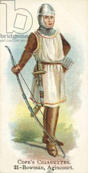 Bowman, Battle Of Agincourt (chromolitho)