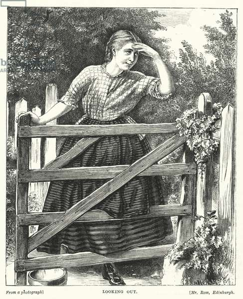 Looking Out (engraving)