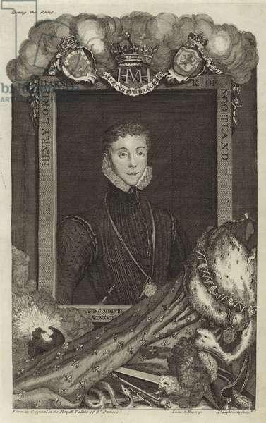 Portrait of Henry Stuart, Duke of Albany (engraving)
