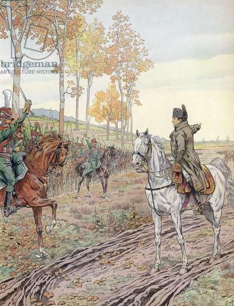 Napoleon (colour litho)