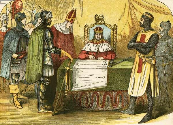 King John signing the Magna Charta