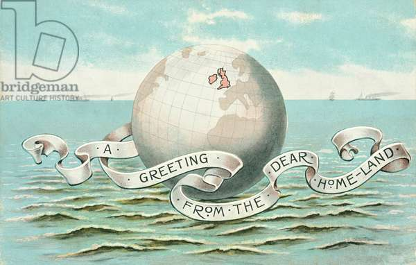 A Greeting from the Dear Homeland (Britain) (colour litho)