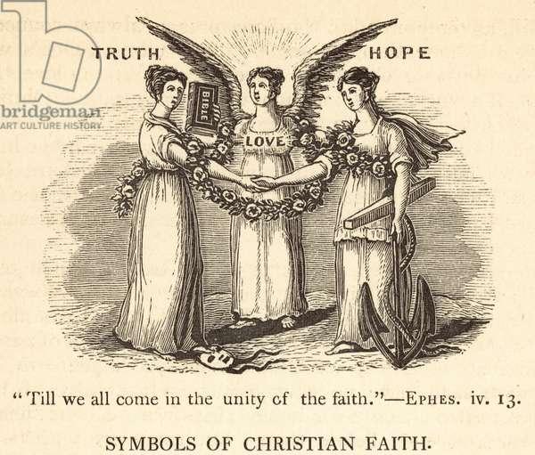 Symbols of Christian Faith (engraving)