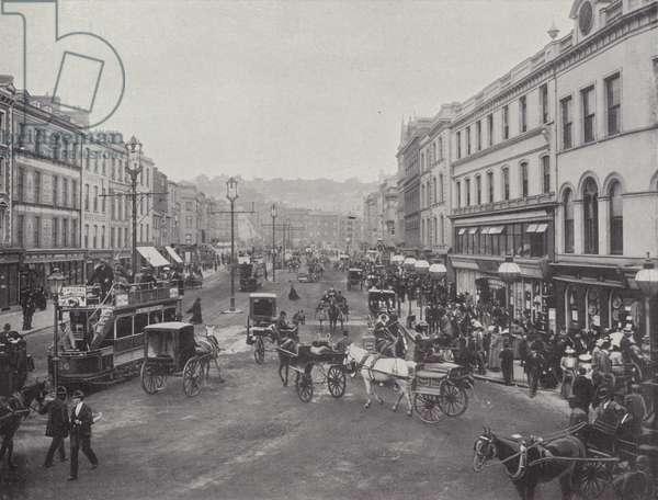 St Patrick Street, Cork, c.1902 (b/w photo)