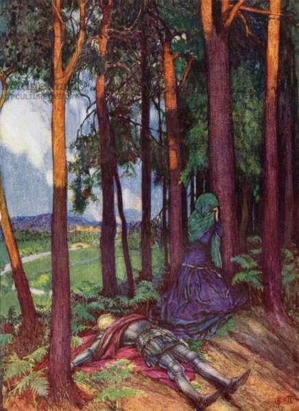 Enid (colour litho)