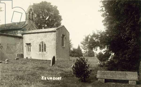 Kelmscot church (b/w photo)