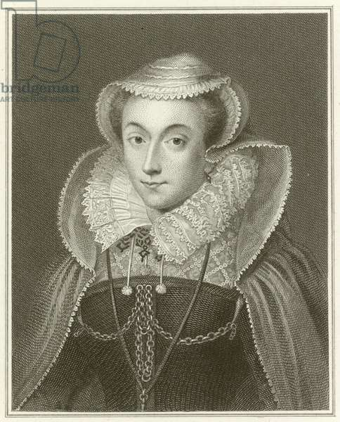 Mary Queen of Scots (engraving)
