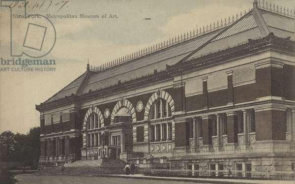 New York, Metropolitan Museum of Art (colour photo)