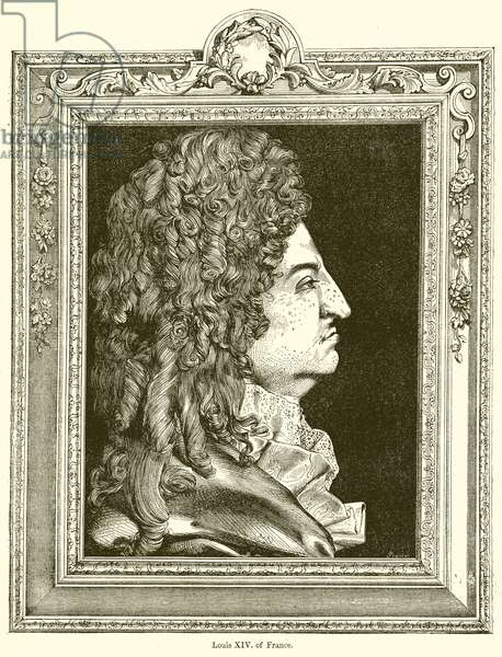 Louis XIV. of France (engraving)