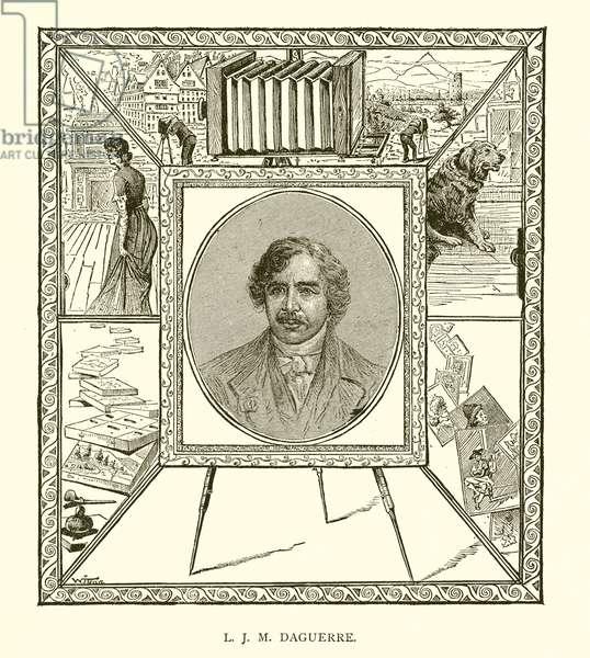 L. J. M. Daguerre (engraving)