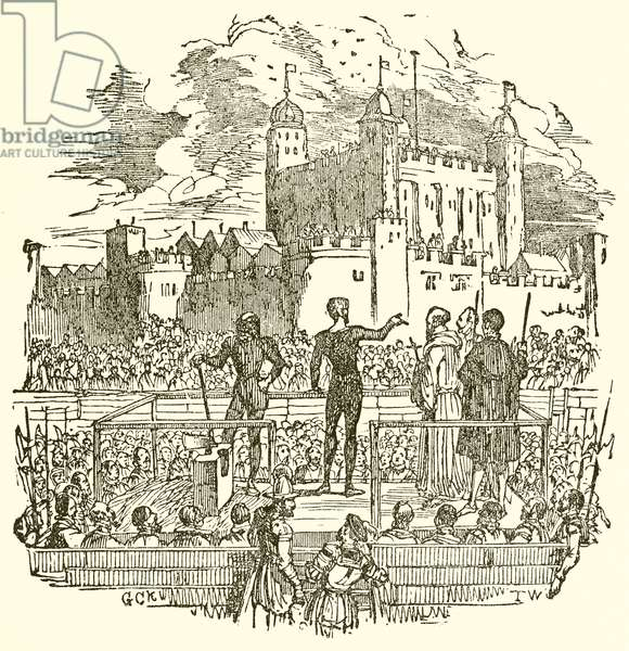 Execution Outside the Tower of London (engraving)