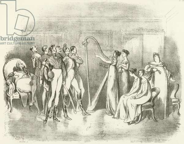 Corinna or Vocal Charms 1810 (gravure)