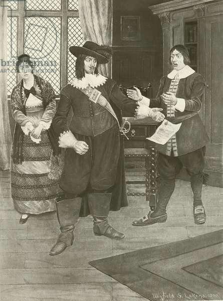 The Barber of Seville, Act I scene xi (gravure)