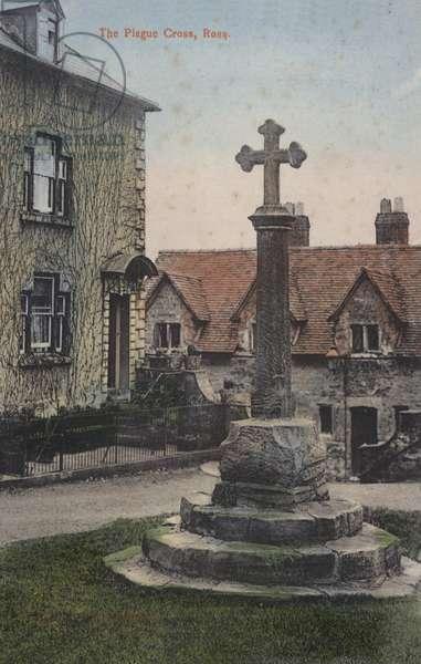 The Plague Cross, Ross (coloured photo)