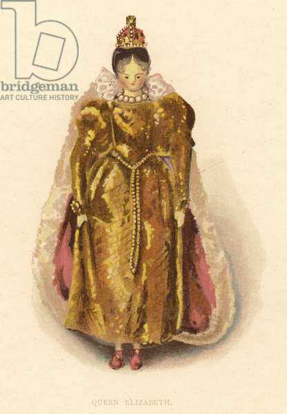 Queen Elizabeth (chromolitho)