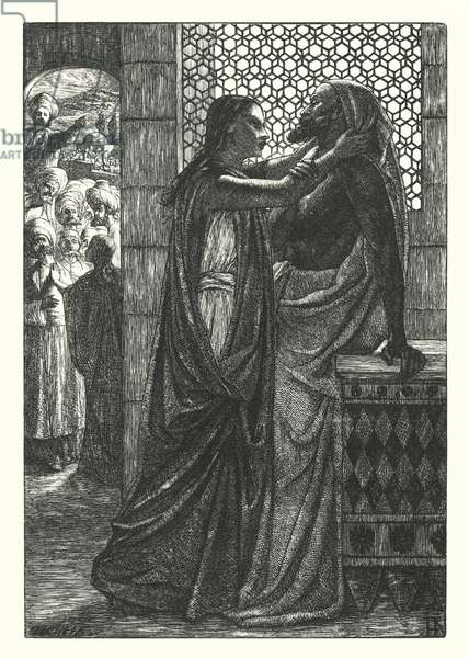 The Dead Man of Bethany (engraving)