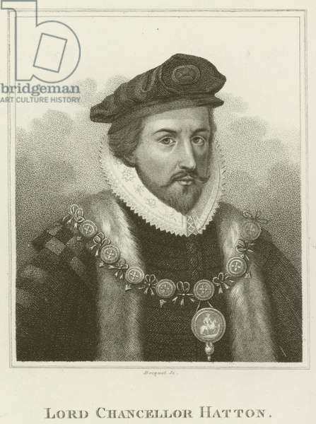 Lord Chancellor Hatton (engraving)