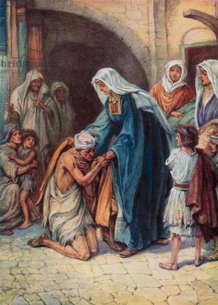 The gifts Dorcas gave (colour litho)