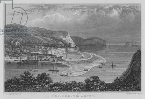 Teignmouth, Devon (engraving)