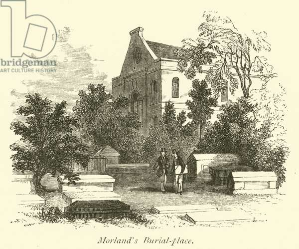 Morland's Burial-place (engraving)