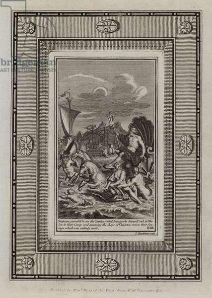 Illustration for Homer's Iliad (engraving)