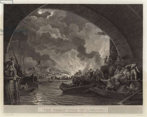 The Great Fire of London (engraving)