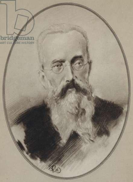 Portraits of Composers: Rimsky-Korsakov (litho)