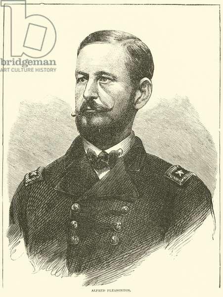 Alfred Pleasonton, May 1863 (engraving)