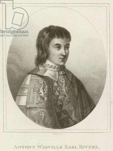 Antony Widville, Earl Rivers (engraving)